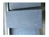 拉纹材路沿石 规格:1000X350X120